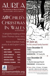 A CHILD'S CRISTMAS IN WALES