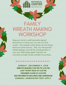 Family Wreath Making Workshop