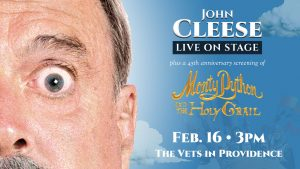 John Cleese Live on Stage