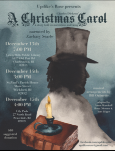 Updike's Rose Presents: A Christmas Carol