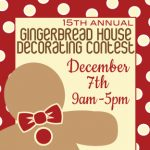 Artists' Exchange's 15th annual Gingerbread House Decorating Contest