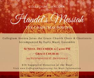 Handel's Messiah: Part I, Christmas