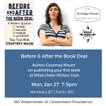 Before and After the Book Deal