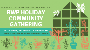 Holiday Community Gathering at Roger Williams Park