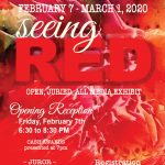 Seeing RED- WAA's February Exhibit