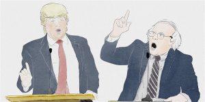 Trump vs. Bernie: The Debate! starring Anthony Atamanuik & James Adomian