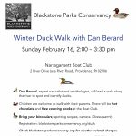 Winter Duck Walk with Dan Berard