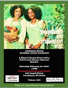 Spoonbread & Strawberry Wine: Dinner with Norma Jean Darden