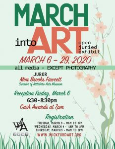 March Into Art...an All Things Spring Exhibit