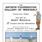 "Artists' Cooperative Gallery of Westerly ""A Special Artist"" In Memory of Gert Rohdin"