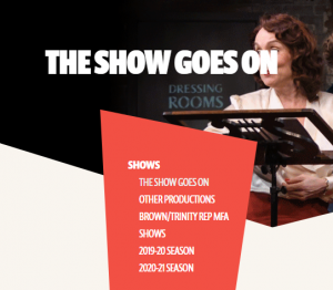 Trinity Rep Digital Content