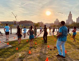 Free Outdoor Salsaon2 All-Level Dance Class