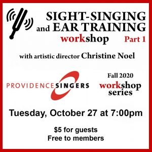 Providence Singers Hosts Skill-building Workshop f...