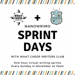 NaNoWriMo Sprint Days