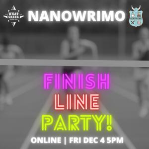 NaNoWriMo Finish Line Party