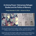 Archiving Power: Vietnamese Refugee Studies and the Politics of Memory