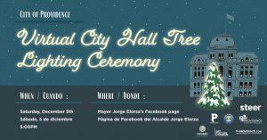 Virtual Providence City Hall Tree Lighting Ceremony