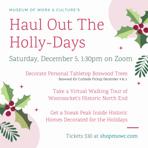 Haul Out for the Holly-Days
