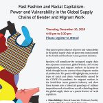 Fast Fashion and Racial Capitalism