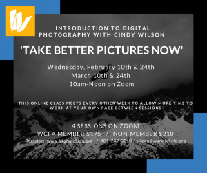 Introduction to Digital Photography for Beginners with Cindy Wilson