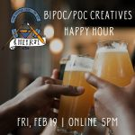 BIPOC/POC Creatives Happy Hour