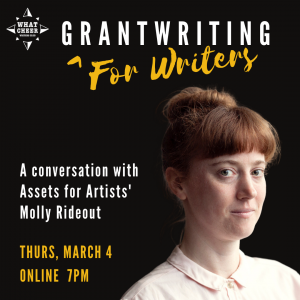 Grantwriting for Writers