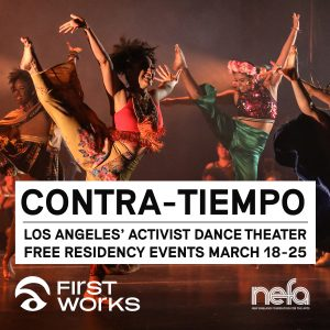 FirstWorks presents CONTRA-TIEMPO: joyUS justUS