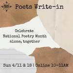 Poets Write-In
