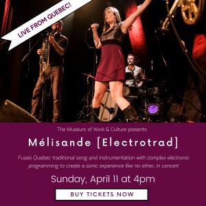 Live Virtual Concert with Mélisande [électrotrad]