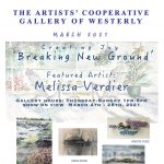 "Artists' Cooperative Gallery of Westerly Creating Joy ""Breaking New Ground"""