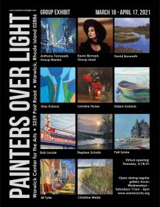 Painters Over Light Group Exhibit: Virtual Opening March 18 (details to follow)