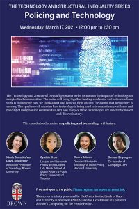 The Technology and Structural Inequality Series: Policing and Technology
