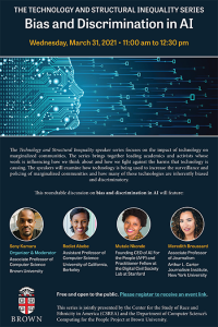 The Technology and Structural Inequality Series: Bias and Discrimination in AI