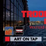 Art on Tap on the TroopTop Deck at the WaterFire Arts Center