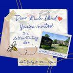 Dear Rhode Island Letter Writing Bee