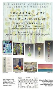 """ACGOW July's Show Creating Joy - """"It's all A..."""