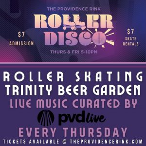 Roller Disco ft. The Autocrats in collaboration with PVD Live!