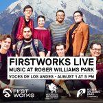 FirstWorks Live—Voces de los Andes