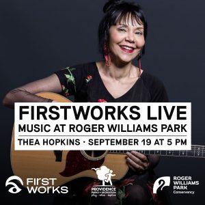 FirstWorks Live—Thea Hopkins