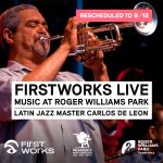 FirstWorks Live—Carlos de Leon (Rescheduled)