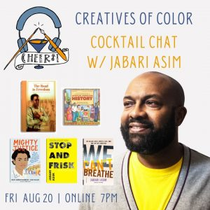 Creatives of Color Cocktail Chat with Jabari Asim