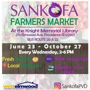 Cam Bells at Sankofa Farmers Market