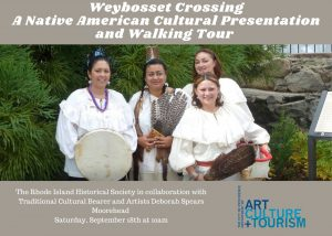 Weybosset Crossing A Native American Cultural Presentation and Walking Tour