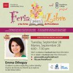 FeriaProv21 Author Presentation: Emma Otheguy