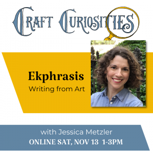 Ekphrasis: Writing from Art