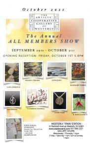 Artists' Cooperative Gallery of Westerly Annual Al...