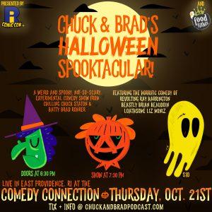 Chuck and Brad's Halloween Spooktacular 3