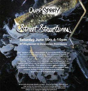 Overspray Studios Presents: Street Structures Arts...