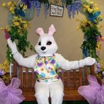 Visit with the Easter Bunny at the Carousel Village