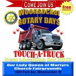 Woonsocket Rotary Days Touch-A-Truck